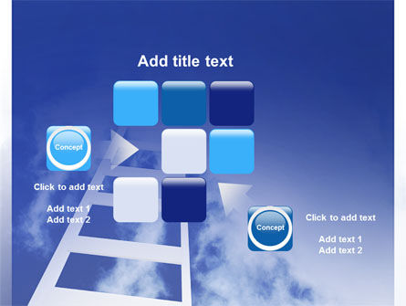 Ladder to Heaven PowerPoint Template Slide 16