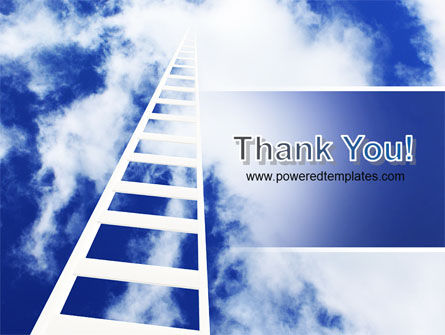 Ladder to Heaven PowerPoint Template Slide 20