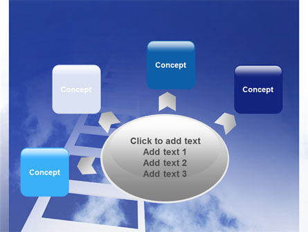Ladder to Heaven PowerPoint Template Slide 7