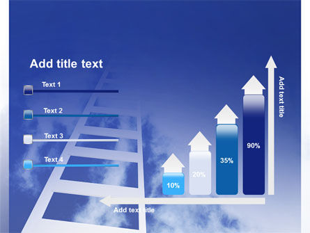 Ladder to Heaven PowerPoint Template Slide 8