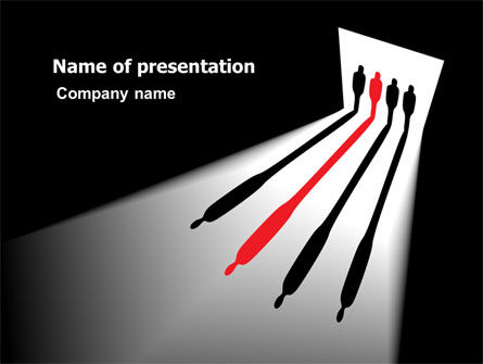 Business Concepts: People Choice PowerPoint Template #06888