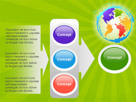 World Continents PowerPoint Template Slide 11