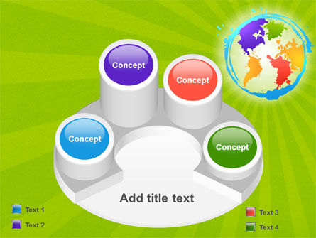 World Continents PowerPoint Template Slide 12
