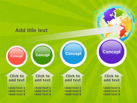 World Continents PowerPoint Template Slide 13