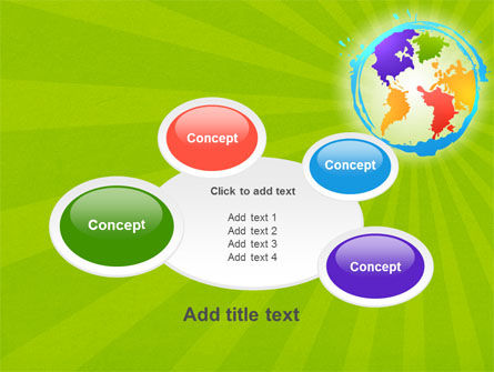 World Continents PowerPoint Template Slide 16