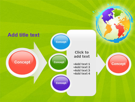 World Continents PowerPoint Template Slide 17
