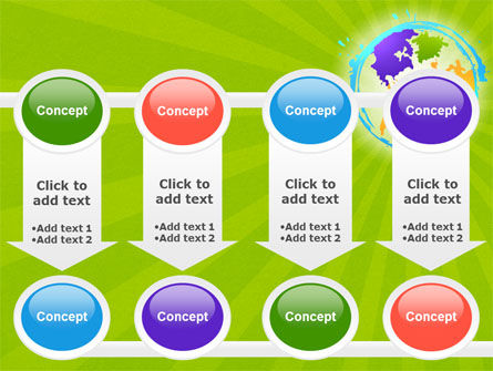 World Continents PowerPoint Template Slide 18