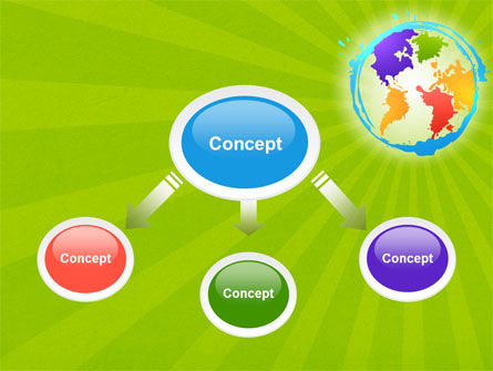World Continents PowerPoint Template, Slide 4, 06889, Global — PoweredTemplate.com