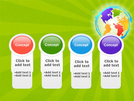 World Continents PowerPoint Template Slide 5