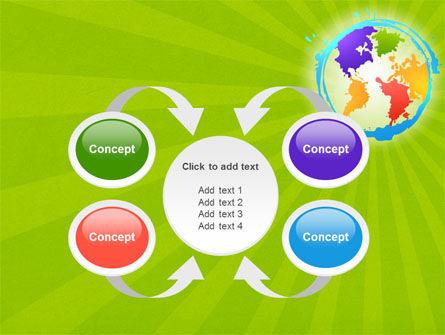 World Continents PowerPoint Template Slide 6