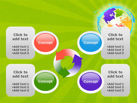 World Continents PowerPoint Template Slide 9