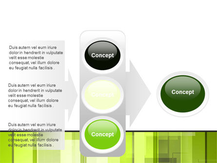 Light Green Abstract PowerPoint Template Slide 11