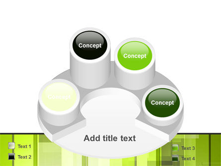 Light Green Abstract PowerPoint Template Slide 12