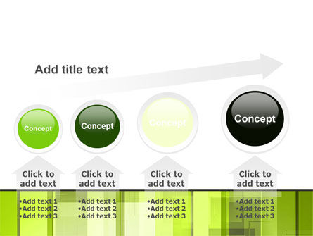 Light Green Abstract PowerPoint Template Slide 13