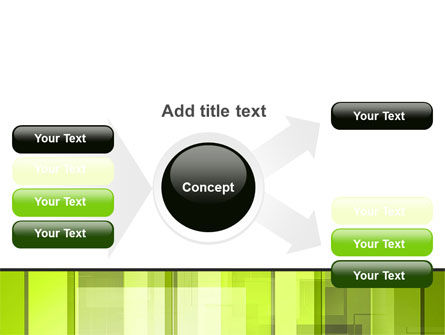 Light Green Abstract PowerPoint Template Slide 14