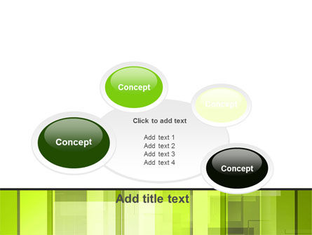 Light Green Abstract PowerPoint Template Slide 16