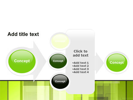 Light Green Abstract PowerPoint Template Slide 17
