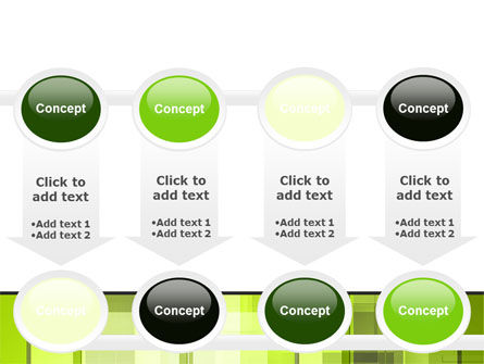 Light Green Abstract PowerPoint Template Slide 18
