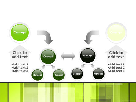 Light Green Abstract PowerPoint Template Slide 19