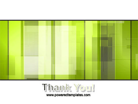 Light Green Abstract PowerPoint Template Slide 20