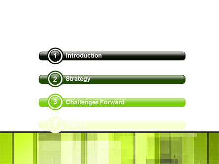 Light Green Abstract PowerPoint Template Slide 3