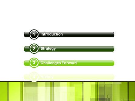 Light Green Abstract PowerPoint Template Slide 3