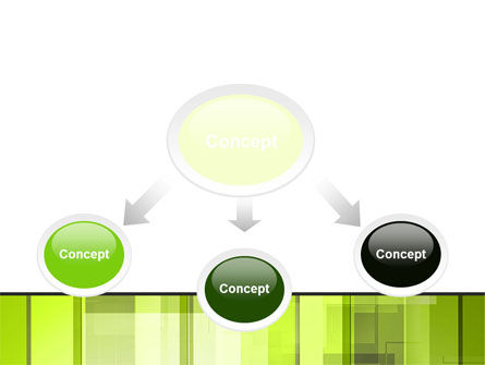 Light Green Abstract PowerPoint Template Slide 4