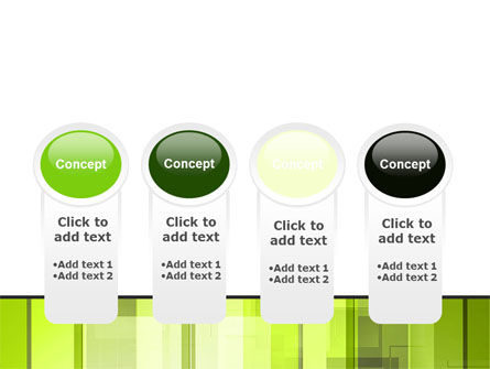 Light Green Abstract PowerPoint Template Slide 5