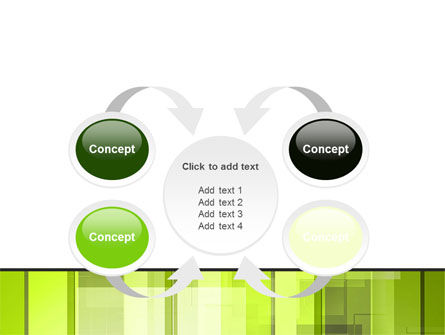 Light Green Abstract PowerPoint Template Slide 6