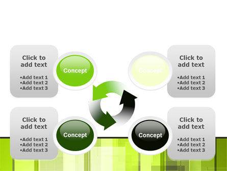 Light Green Abstract PowerPoint Template Slide 9