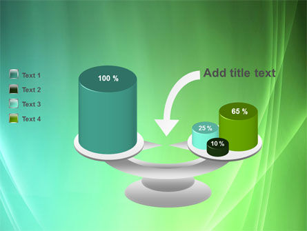 Aqua Green Abstract PowerPoint Template Slide 10