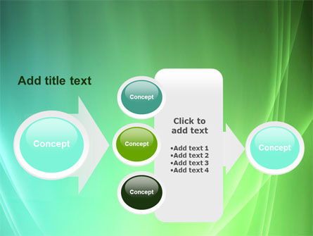 Aqua Green Abstract PowerPoint Template Slide 17