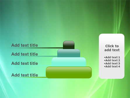 Aqua Green Abstract PowerPoint Template Slide 8