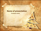 Holiday/Special Occasion: New Year Theme PowerPoint Template #06894