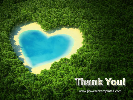 Heart Lake PowerPoint Template Slide 20