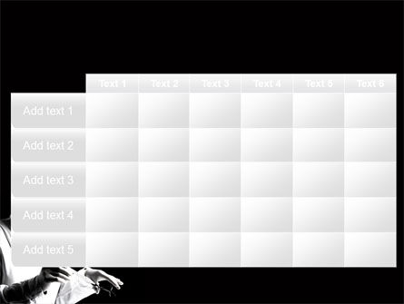Surgery In Black And White PowerPoint Template Slide 15