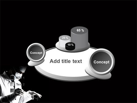Surgery In Black And White PowerPoint Template Slide 16