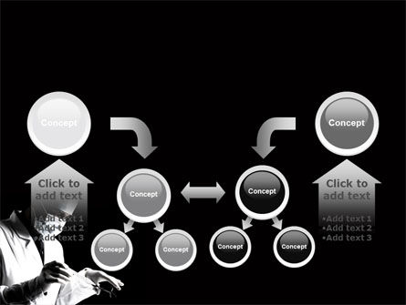 Surgery In Black And White PowerPoint Template Slide 19
