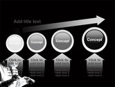 Surgery In Black And White PowerPoint Template#13