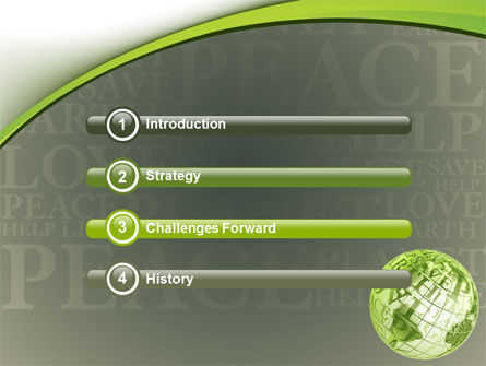 Eco Friendly PowerPoint Template, Slide 3, 06900, Global — PoweredTemplate.com