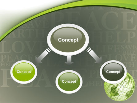 Eco Friendly PowerPoint Template, Slide 4, 06900, Global — PoweredTemplate.com