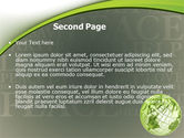 Eco Friendly PowerPoint Template#2