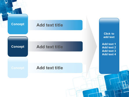 Blue and White Clean PowerPoint Template Slide 12
