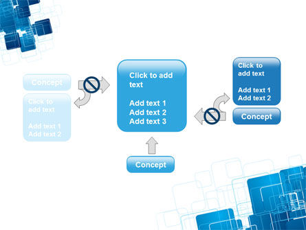 Blue and White Clean PowerPoint Template Slide 13