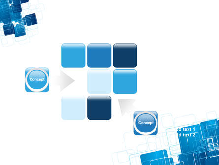 Blue and White Clean PowerPoint Template Slide 16