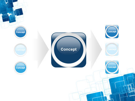 Blue and White Clean PowerPoint Template Slide 17