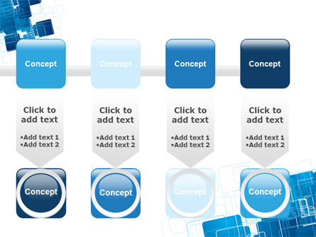 Blue and White Clean PowerPoint Template Slide 18