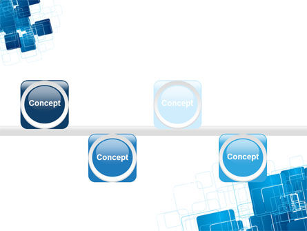 Blue and White Clean PowerPoint Template Slide 19