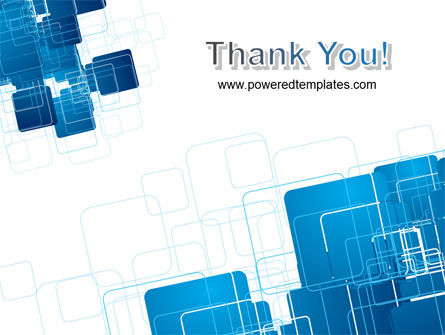 Blue and White Clean PowerPoint Template Slide 20