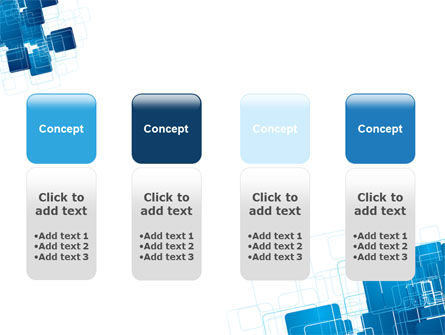 Blue and White Clean PowerPoint Template Slide 5